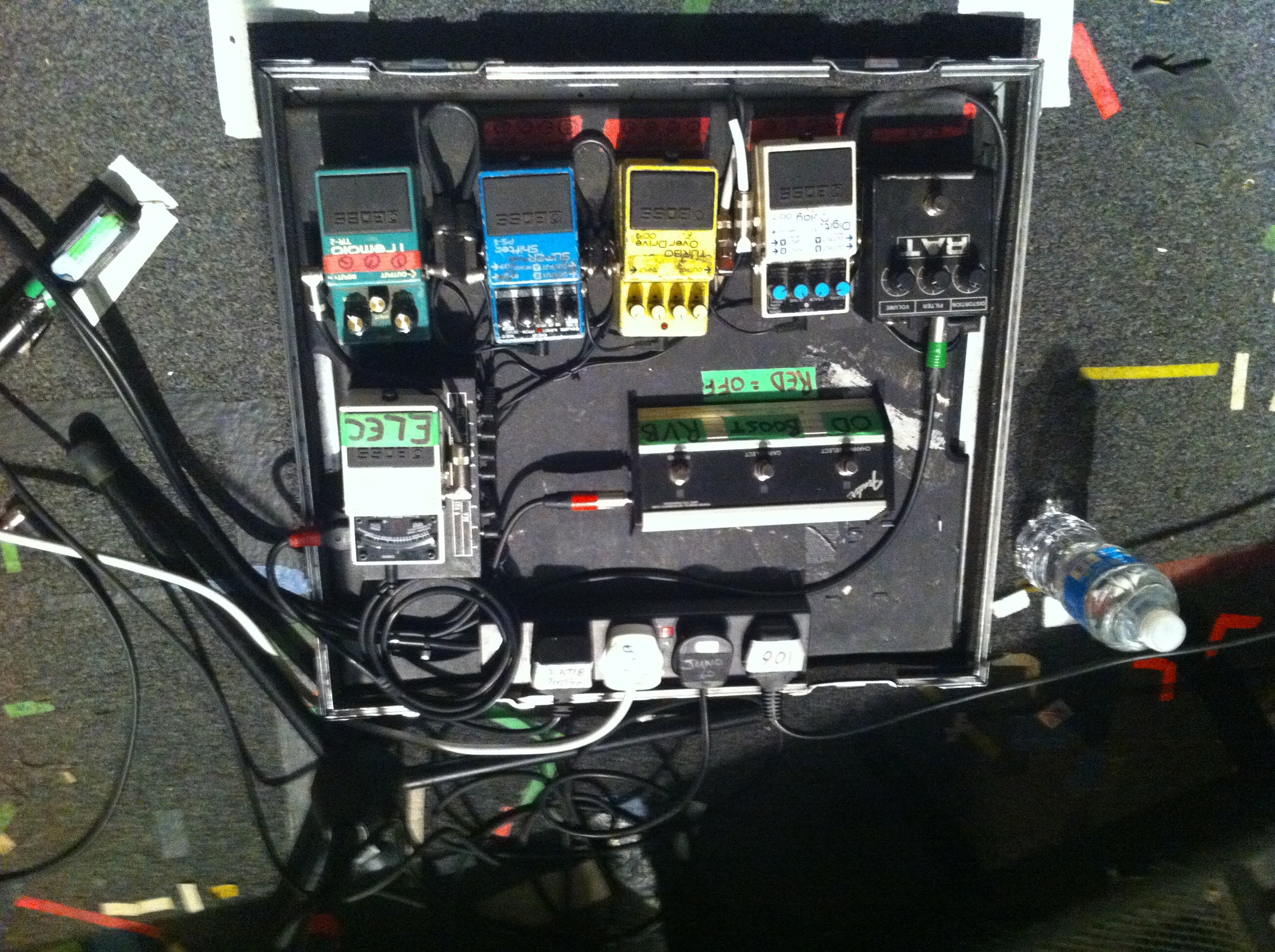 Metronomy Pedalboard Above Ground Realism Pedal Board Wiring If